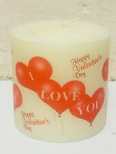 Fancy Colorful New Design Handmade Valentine Gift Flammable Candles Decorative