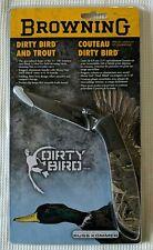 Browning Dirty Bird Folding Knife Pocket Knife Camo