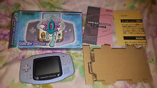 Nintendo Game Boy Advance Pokemon Center Suicune Console Blue Complete in Box!