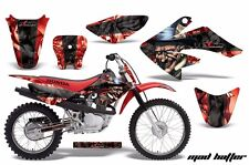AMR Racing Honda Graphic Kit Bike Decal CRF 70 Decal MX Parts 2004-2013 MH K R