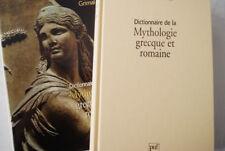 PIERRE GRIMAL DICTIONNAIRE MYTHOLOGIE GRECQUE ET ROMAINE RELIE ILLUSTRE 1999
