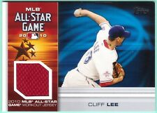 2010 Topps Update All-Star Stitches Cliff Lee jersey