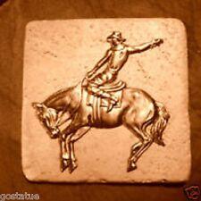 Gostatue cowboy  travertine tile mold abs plastic mold rapid set mould