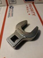 """Matco Tools WCF36 1-1/8"""" Crowfoot Socket Wrench 1/2"""" Drive USA Open End SAE"""