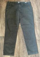 Gap Slim Fit Chinos Dark Grey 36x32 Casual