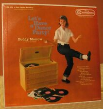 Buddy Morrow LP: Let's Have A Dance Party. ca.1960. (E)