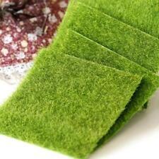 Moss Mat Artificial Green Sheet Grass Train Craft Fairy For Decor Garden Wedding
