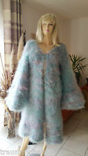 Sogno Mohair m1b huge Fuzzy LONGHAIR Mohair GIACCA MAGLIA GIACCA JACKET COAT NUOVO