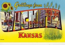 """Greetings From Wichita, Kansas known as the """"Air Capitol"""""""