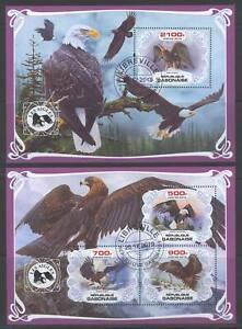 SVVGTA D53 limited 2019-2020 Fauna Birds Eagles 2 sheets