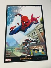 SDCC 2017 Sky Viper Spider-Man Homecoming Limited Edition Print POSTER Marvel Ne