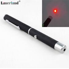 2pcs 5mW 635nm 638nm Orange Red Laser Pointer Pen Lazer Class 3R Safety FDA