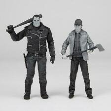 Walking Dead Negan and Glenn Action Figure 2-pack (Black and White) McFarlane