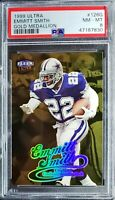 1999 Ultra Emmitt Smith Gold Medallion PSA 8(Total Card Pop 2)!!! Great Card!!