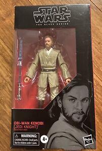 Star Wars Black Series 6 Inch Obi-Wan Kenobi Jedi Knight