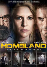 Homeland: Season 3 DVD  4 Disc Set 12 Episodes NEW