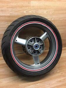 Triumph TT600 Rear Wheel Rim With Tyre & Brake Disc Avon AV56 180/55 ZR17