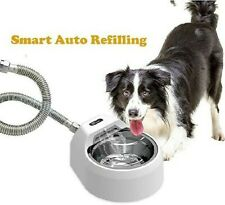BENTOPAL Smart Automatic Refilling Dog Pets Water Fountain Bowl In/Outdoor  NEW