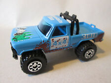 1981 Matchbox Mini-Pickup Mountain Man 4 x 4 Cibie Truck #57 HK (Blue) Mint