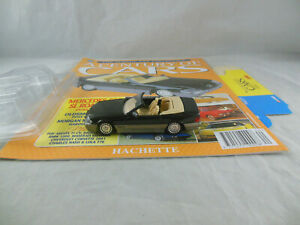 """Hachette no.40 Mercedes 500 SL Roadster in Black """"A Century of Cars"""" 1:43 Scale"""