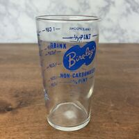 Vintage advertising measuring glass - Bireley's