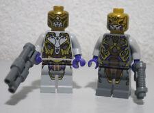2)Alien Commander Soldier Lot Avengers 6865 6869 Super Hero LEGO Minifigure