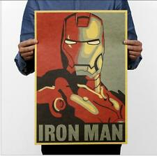 2018 Iron Man Poster Comic Marvel Heroes Movie Room Decor Poster