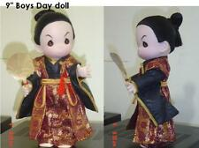"""Precious Moments JAPANESE  Doll """"ISAMU""""  w/ doll stand"""