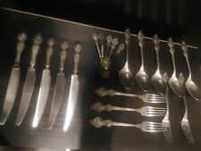 Lot of 20 cutlery vintage silvered