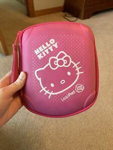 LeapFrog LeapPad Explorer Pink Hello Kitty Carrying Case Storage Organize Games