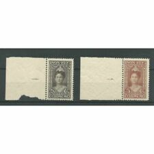 Curacao  80-81 Wilhelmina  Jubileum 1923 MNH/postfris  CV 575 €