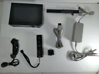 Nintendo Wii Black RVL-101 Game Console Bundle Tested Working