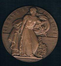 B0185 - MONNAIE - Une Grande Médaille de Bronze Mérite et Fidélité