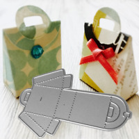 Candy Gift Wedding Box Metal Cutting Dies Paper Scrapbooking Embossing Crafts