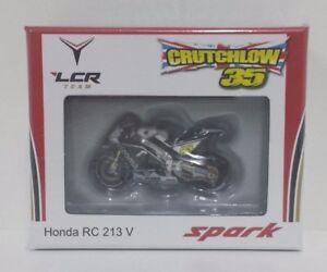 Spark 1/43 Model Moto Honda Hrc Crutchlow Gp England 2016 Motogp Diecast