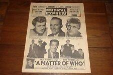 NME 11 AUG 1961 EDEN KANE JOHN LEYTON ADAM FAITH SAM COOKE GENE VINCENT