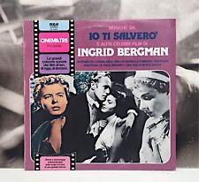MUSICHE DA IO TI SALVERO' E ALTRI FILM DI INGRID BERGMAN OST LP EX-/NM 1980 RCA