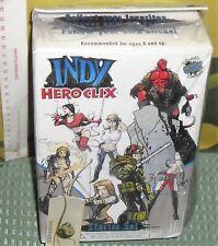 BOX MINIATURE SUPEREROI HERO CLIX-STARTER SET INDY HEROCLIX/8 MINIATURES FIGURES