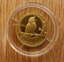 20 Euro Gold-Münze Nachtigall 2016 Prägebuchstabe J mit Zertifikat