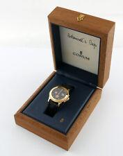 CORUM Admiral's Cup Gold 750 Reserve Date Automatik 34mm full set Box Papiere