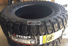 4 New LT 33x12.50R22 RBP Repulsor MT Tires 33 12.50 22 LRE Offroad Mud R22