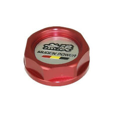 Mugen Power Oil Fuel Filler Racing Engine Tank Cap Cover Honda Acura Integra Red