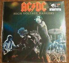 """AC/DC """"HIGH VOLTAGE RANGERS"""" PURPLE LP LIVE NEWCASTLE, UK 1977 BON SCOTT 202/350"""