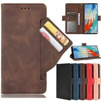 For LG Wing 5G Luxury Magnetic Flip Leather Card Slots Wallet Stand Case Cover