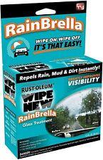 Rust-Oleum 311196 Wipe New RainBrella Glass Protector old retail box super good