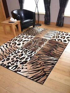 Tiger Leopard Animal Print Hall Runners Small Extra Large Long Carpet Rugs Cheap