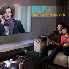 Wireless WIFI Bluetooth DLP Theater Video Mini Projector USB for Android IPhone