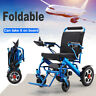 110/220V Portable Folding Mobility Old Elderly Disabled Electric Wheelchair