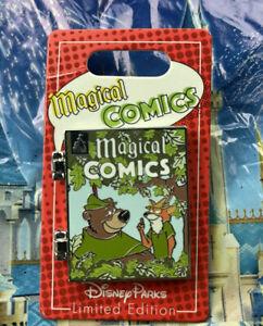 Disney Magical Comics Robin Hood Pin LE 2500 New In Hand