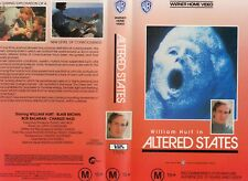 ALTERED STATES - William Hurt   VHS -PAL -NEW -Never played!-Original Oz release